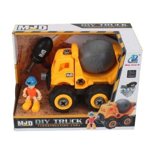 Конструктор MJD DIY Truck 122-1C Спецтехника Цементовоз