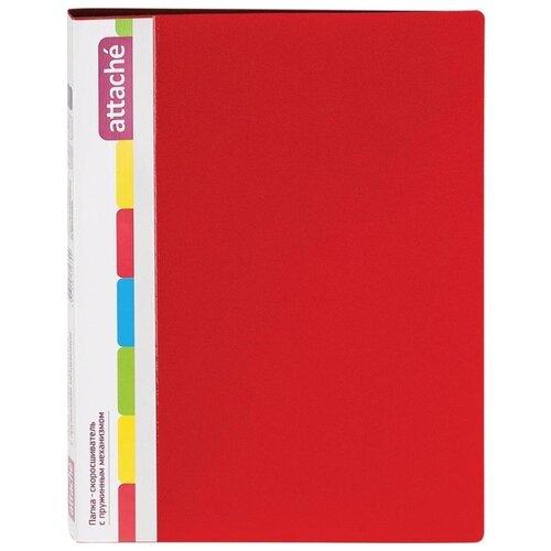 Купить Attache Папка-скоросшиватель с пружинным механизмом Diagonal А4, 600 мкм красный, Файлы и папки
