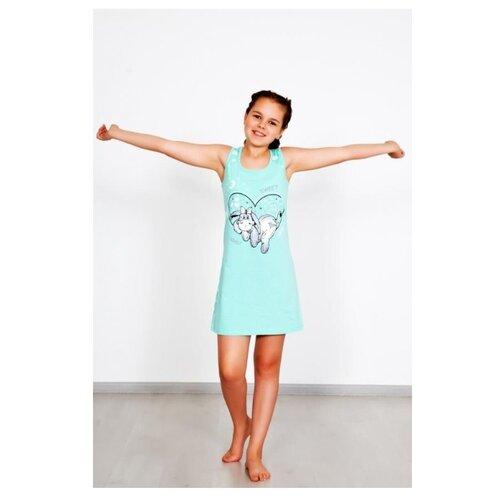 Купить Сорочка Lika Dress размер 34, голубой, Домашняя одежда