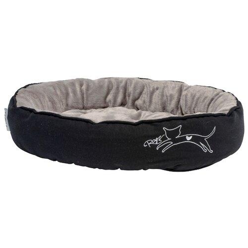 Лежак для собак и кошек Rogz Snug Pod CPM 56х39х13 см черный