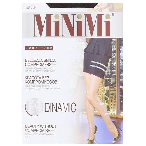 Колготки MiNiMi Dinamic 50 den, размер 1/2-S, fumo (серый) колготки minimi lanacotone 180 den размер 2 s m fumo серый