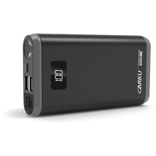 Пуско-зарядное устройство CARKU Power Bank 8000 Plus черный