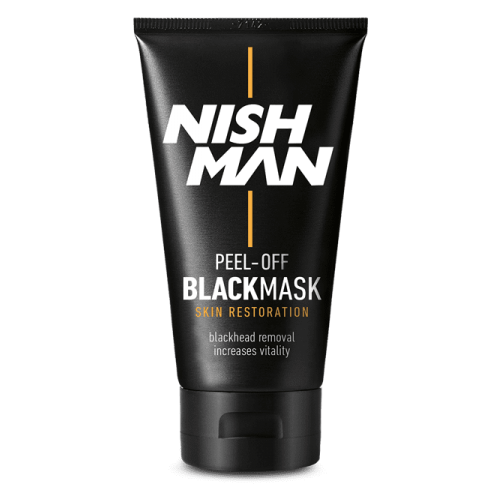 NISH MAN Очищающая маска-пленка Black Mask, 150 мл маска пленка очищающая