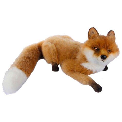 Фото - Мягкая игрушка Hansa Лиса лежащая 27 см мягкая игрушка hansa лиса 90 см