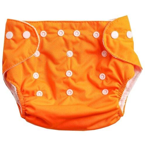 Фото - Крошка Я многоразовый подгузник (3-15 кг) 1 шт. оранжевый глориес многоразовый подгузник классик сафари 3 18кг 2 вкладыша