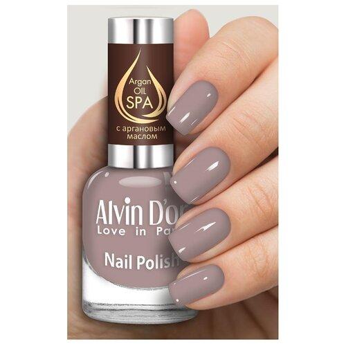 Лак Alvin D'or SPA Argan Oil, 15 мл, оттенок 5001 лак alvin d or spa argan oil 15 мл оттенок 5036