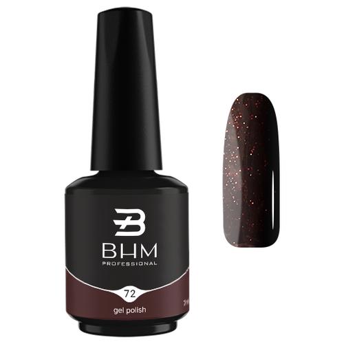 Гель-лак для ногтей BHM Professional Gel Polish, 7 мл, №072 East night недорого