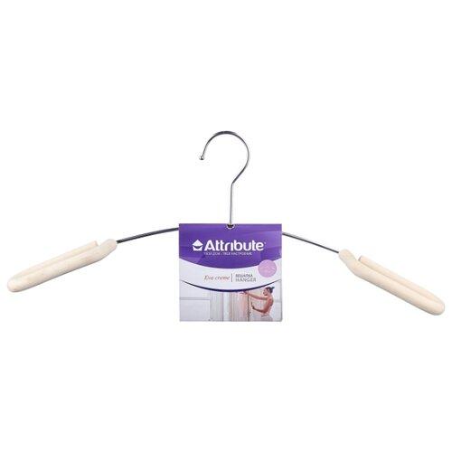 Вешалка Attribute Для верхней одежды Eva creme вешалка для верхней одежды полимербыт 52 54