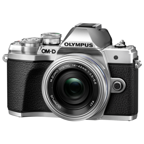 Фото - Фотоаппарат Olympus OM-D E-M10 Mark III Kit серебристый M.Zuiko Digital ED 14‑42mm F3.5‑5.6 EZ Pancake фотоаппарат