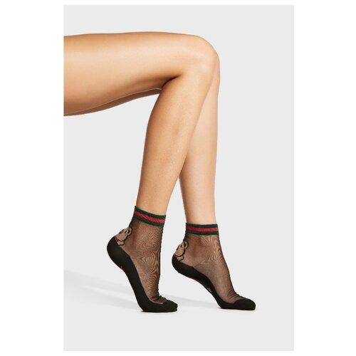 Носки Mersada 213572, размер 36-41, черный/коричневый/зеленый