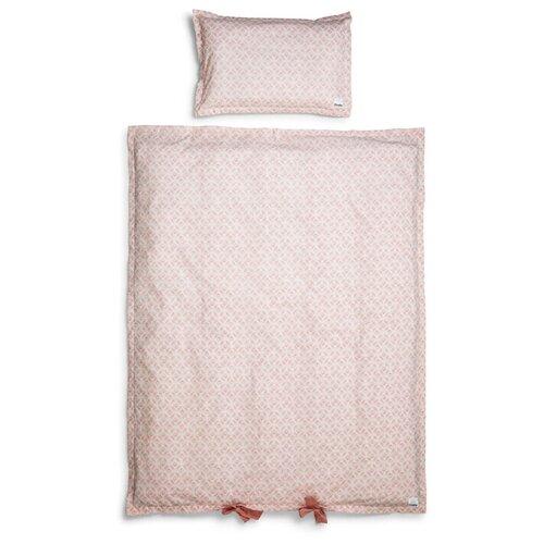 Купить Elodie комплект в кроватку Sweet Date (2 предмета) розовый, Постельное белье и комплекты