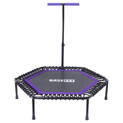 Каркасный батут BaseFit TR-401 101 см 101х101х101.5 см фиолетовый