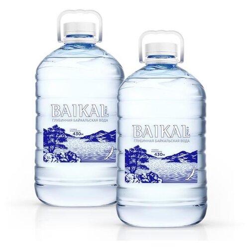 Вода питьевая Baikal430 негазированная, ПЭТ, 2 шт. по 5 л истэль вода талая негазированная 12 шт по 0 5 л