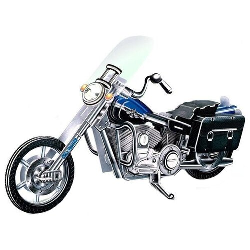 Купить Пазл DIY Мотоцикл (2803), 113 дет., Пазлы