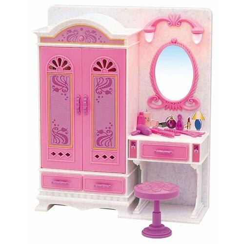 Купить Dolly Toy Волшебное трюмо (DOL0803-018) белый/розовый, Мебель для кукол