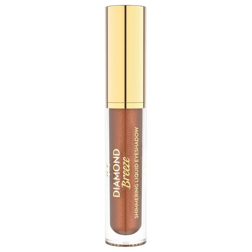 Golden Rose Тени для век Diamond Breeze Shimmering Liquid Eyeshadow 03 iconic copper