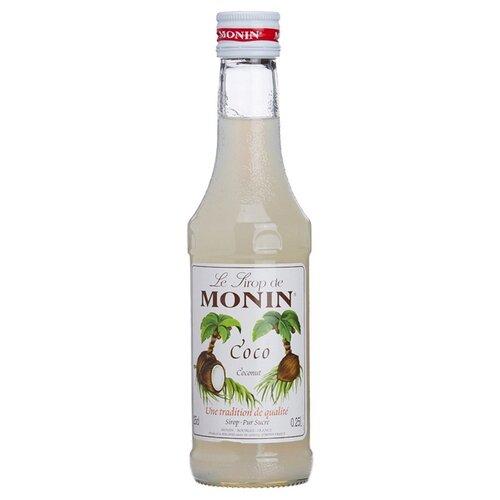 Сироп Monin Кокос 0.25 л сироп sweetfill кокос 0 5 л