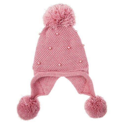 Купить Шапка playToday размер 54, розовый, Головные уборы