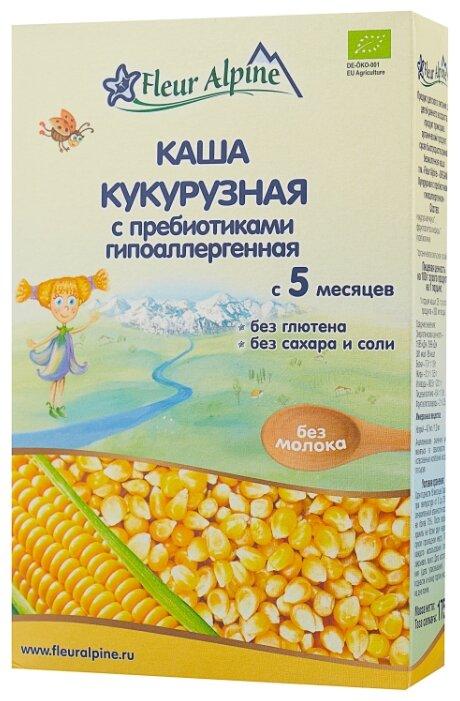 Каша Fleur Alpine безмолочная кукурузная с пребиотиками (с 5 месяцев) 175 г