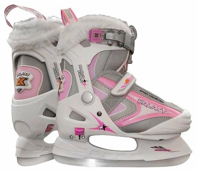 Детские прогулочные коньки СК (Спортивная коллекция) Galaxy Girl для девочек