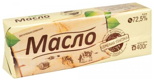 El Viento Масло растительно-сливочное 72.5%, 400 г