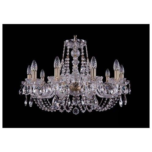 Люстра Bohemia Ivele Crystal 1406 1406/10/240/Pa, E14, 400 Вт люстра bohemia ivele crystal 1406 1406 12 300 pa