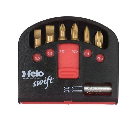 Набор бит Felo (7 предм.) 02060176 набор бит felo torx серия impact 15x25 02615040