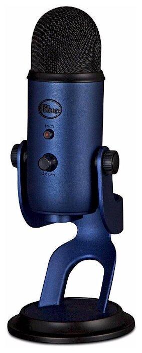 Купить Микрофон Blue Yeti синий по низкой цене с доставкой из Яндекс.Маркета (бывший Беру)