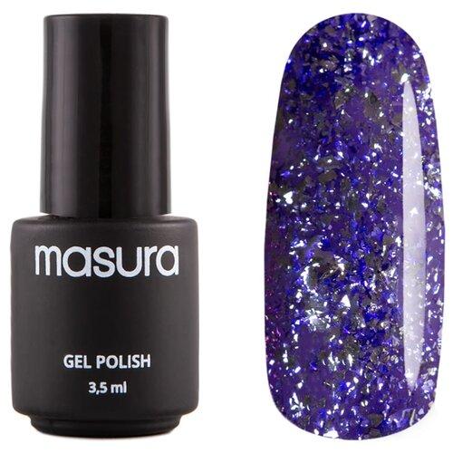 Купить Гель-лак для ногтей Masura Indie, 3.5 мл, пурпурные брызги