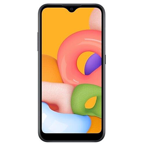 Смартфон Samsung Galaxy A01 черный (SM-A015FZKDSER) смартфон