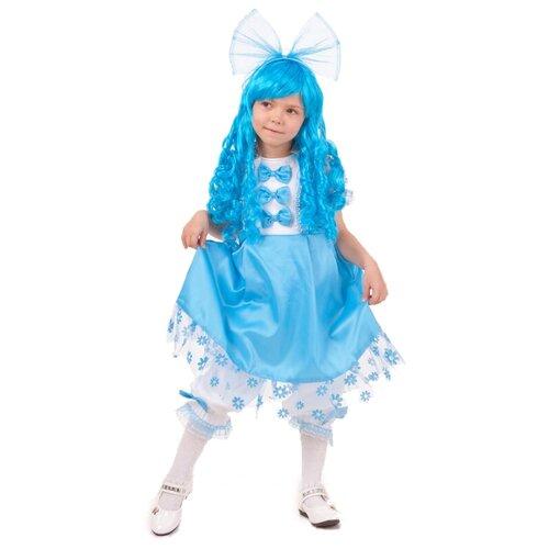 Купить Костюм Батик Мальвина (2041 к-18), голубой, размер 134-68, Карнавальные костюмы