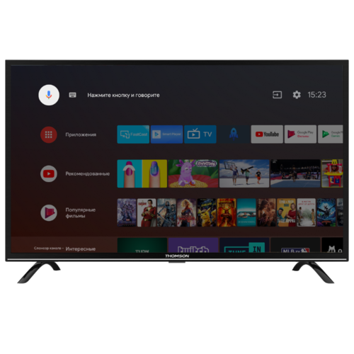 Телевизор Thomson T43FSL6010 43 черный телевизор thomson t32rtl5140 черный