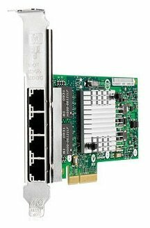 Hewlett-Packard 593743-001 адаптер HP NC365T 4-PORT ETHERNET SERVER ADAPTER