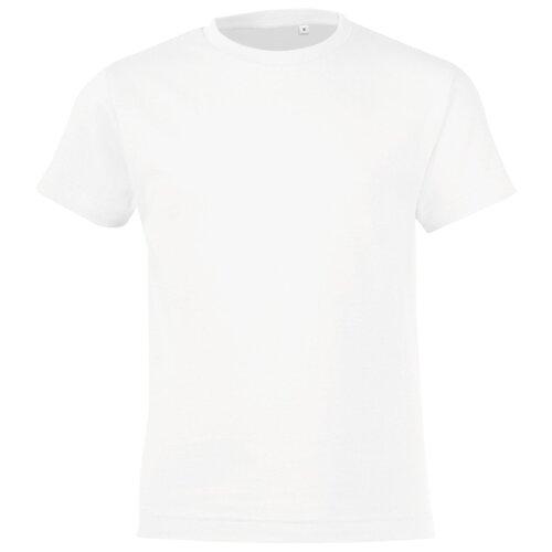 Купить Футболка Sol's размер 130-140, белый, Футболки и майки