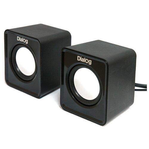 цена на Компьютерная акустика Dialog AC-02UP black