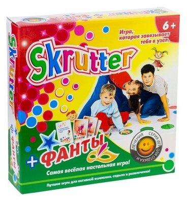Купить Настольная игра Эра Skrutter + Фанты по низкой цене с доставкой из Яндекс.Маркета