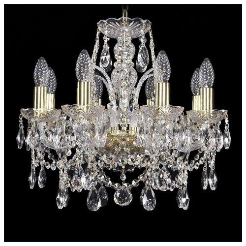 Фото - Люстра Bohemia Ivele Crystal 1411 1411/8/141/G, E14, 320 Вт люстра bohemia ivele crystal 1411 1411 6 141 g e14 240 вт