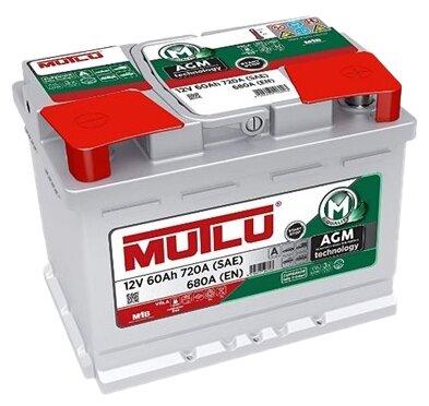 Аккумулятор Mutlu AGM Start-Stop (AGM.L2.60.068.A) — цены на Яндекс.Маркете