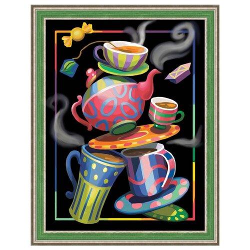 Алмазная живопись Набор алмазной вышивки Чайная фантазия (АЖ-1581) 30х40 см