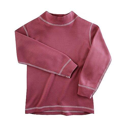 Купить Лонгслив Наша мама Merino wool 54626, размер 92-98, бордовый, Термобелье