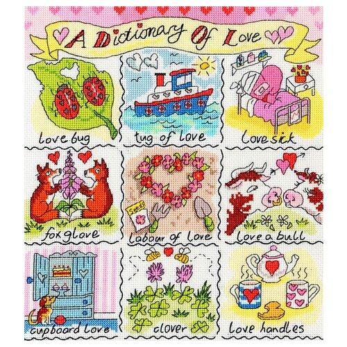 Купить Набор для вышивания Love (Любовь), Bothy Threads, Наборы для вышивания