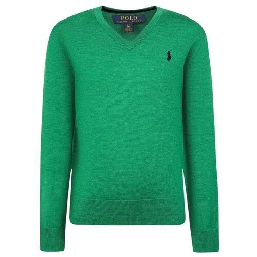 Купить Пуловер Ralph Lauren размер 92, зеленый, Джемперы и толстовки