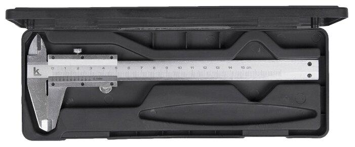 Нониусный штангенциркуль КАЛИБРОН 72362 150 мм,