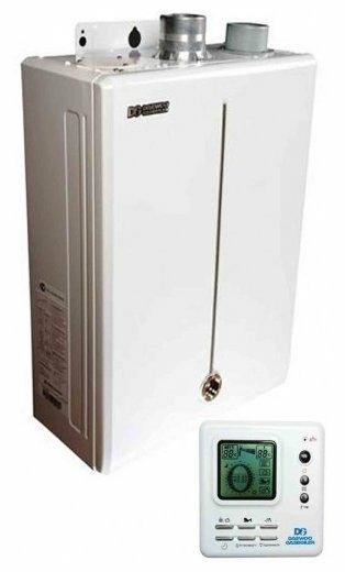 Стоит ли покупать Конвекционный газовый котел Daewoo DGB-300 MSC, 34.9 кВт, двухконтурный? Отзывы на Яндекс.Маркете