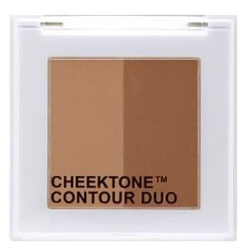 TONY MOLY Палетка для скульптурирования Cheektone Contour Duo natural brown
