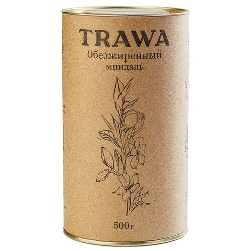 Миндаль Trawa обезжиренный, 500 г творог гармония обезжиренный 0