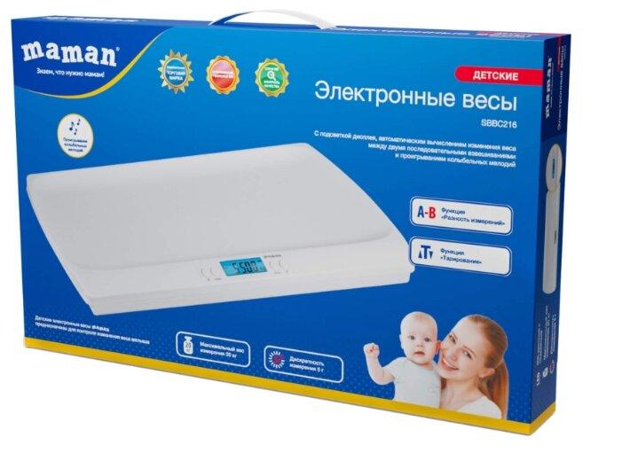 Электронные детские весы Maman SBBC216