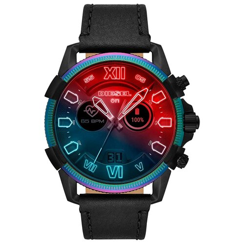 Умные часы c GPS DIESEL On Full Guard 2.5 черный/синий