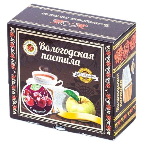 Пастила Вологодская мануфактура с вишней без сахара, 115 г