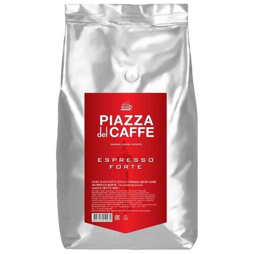 Кофе в зернах Piazza del Caffe Espresso Forte промышленная упаковка, робуста, 1 кг галстук piazza italia piazza italia pi022dmwpi09